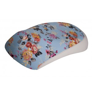 SADDLE COVER JASMIN BL/FLOWER