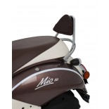 MIO DRAGER CHROME + SISSY BAR +KUSSEN BR