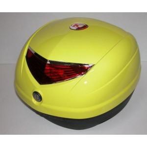 Koffer 33 ltr Kymco geel YR039 Soft