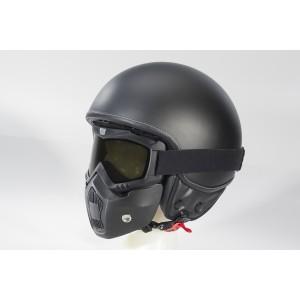 Helm Beon Mask mat zwart