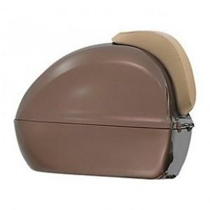 Topkoffer vespa bruin zonder rugsteun