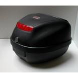 Koffer 28 ltr zwart Soft Italia
