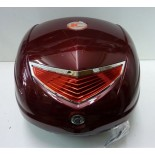 Koffer 33 ltr Kymco rood RR132 Soft People S