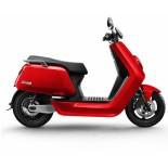 NIU N1S Elektrische Scooter zijkant rood