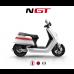 NIU wit met rode streep GP motor