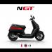 NIU zwart met rode streep GP motor