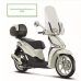 Piaggio Liberty Sport  zijkant wit windscherm